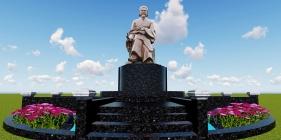 Thiết kế xây dựng tượng cụ Nguyễn Bỉnh Khiêm