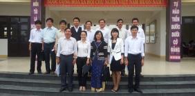 Trung tâm Phát triển nguồn nhân lực CLC làm việc với trường chuyên
