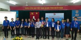 Đại hội Đại biểu Đoàn TNCS trường THPT Chuyên Nguyễn Bỉnh Khiêm nhiệm kỳ 2017 – 2018.