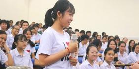 Tuyên truyền pháp luật cho học sinh Trường THPT chuyên Nguyễn Bỉnh Khiêm
