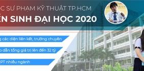 Thông tuyển sinh năm 2020 của trường ĐH SPKT thành phố Hồ Chí Minh