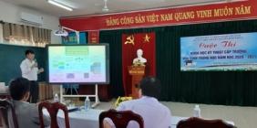 Trường THPT Chuyên Nguyễn Bỉnh Khiêm tổ chức cuộc thi KHKT năm học 2020-2021