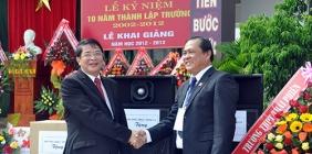 Khẳng định thương hiệu trường THPT Chuyên Nguyễn Bỉnh Khiêm