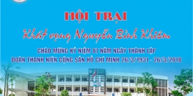 Kế hoạch và Nội quy Hội trại Khát vọng Nguyễn Bỉnh Khiêm