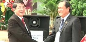 Bí thư tỉnh ủy Nguyễn Đức Hải dự lễ kỷ niệm 10 năm thành lập trường THPT chuyên Nguyễn Bỉnh Khiêm