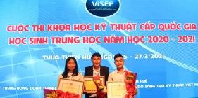 Trí tuệ THPT chuyên Nguyễn Bỉnh Khiêm trên sân chơi nghiên cứu khoa học kỹ thuật