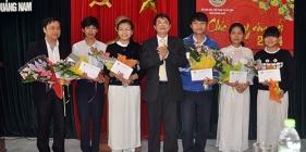 Kỳ thi học sinh giỏi quốc gia năm học 2013 - 2014 học trò đất Quảng tạo bất ngờ