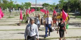 Lễ ký kết hợp tác giữa Trường THPT Chuyên Nguyễn Bỉnh Khiêm và Trường ĐHTH Kurgan