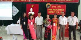 Hội nghị nhà giáo - lao động năm học 2012 - 2013 và đại hội Công đoàn trường nhiệm kì 2012 - 2015