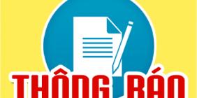 Thông báo về ngưỡng đảm bảo chất lượng đầu vào tuyển sinh ĐH, CĐ, TC các nhóm ngành Giáo viên và nhóm ngành sức khỏe