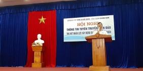 Hội nghị thông tin tuyên truyền biển đảo và thu hút nguồn nhân lực xây dựng quân chủng Hải quân